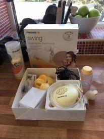 Medela swing single electric breast pump for sale