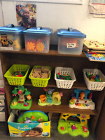 Infant/ toddler/ preschooler spaces available