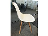 Contemporary White Chairs