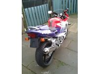 Honda CBR 600FW SHOWROOM CONDITION