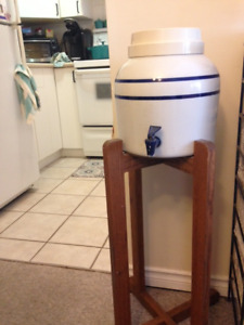Water Jug and Stand