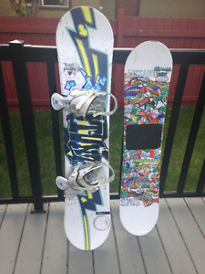 2 snowboards for $25
