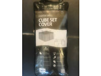 Cube Set Cover for 4 seater garden furniture
