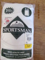 Mens White Undershirts Never used still in package