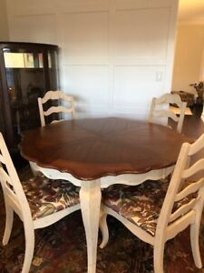 Dining Table, Side table and Hutch