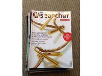 Searcher Metal detector magazines