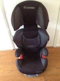 High back booster seat by Maxi Cosi