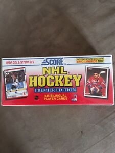 Carte de Hockey de la marque Score / Score Hockey trading cards