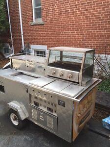 Hot Dog Cart!