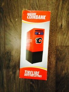 Calgary Flames Mailbox Coin Bank