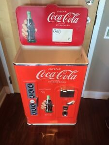 COCA COLA COOLER-ICE CHEST MAN CAVE COLLECTIBLE $65