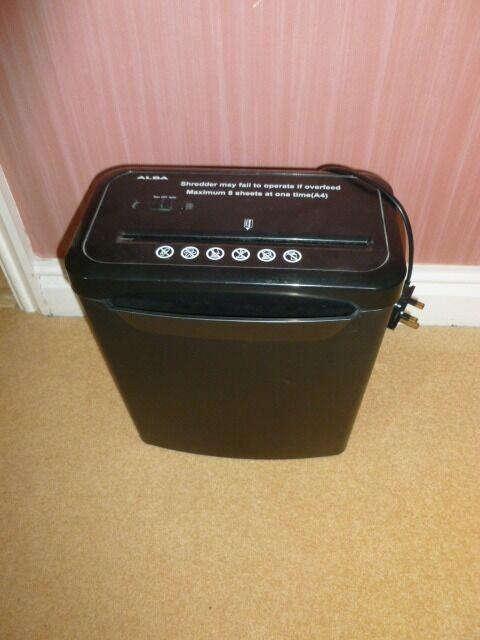 Alba home paper shredder in chellaston derbyshire gumtree for Best home office shredder uk