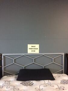 BRAND NEW QUEEN METAL HEADBOARD WITH FREE DELIVERY.