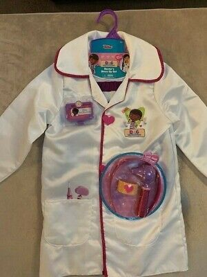 NEW DOC MCSTUFFINS COSTUME DRESS UP SET DOCTOR'S LAB COAT + - Doc Mcstuffins Dress Up Kostüm