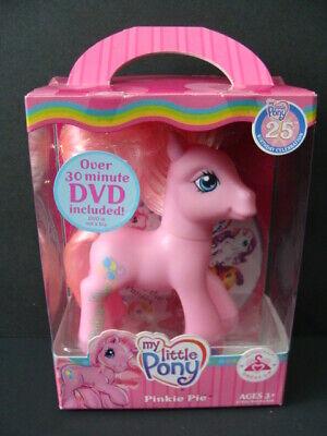 Pinkie Pie Clothes (NEW My Little Pony Pinkie Pie G3 Dress Up 25th Birthday Celebration Figure DVD)