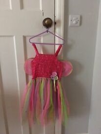 Rainbow Fairy dressing up outfit age 6 years