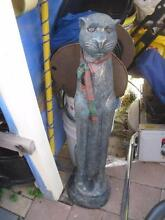 CAT STATUE LARGE AND VERY HEAVY CONCRETE STATUE Isaacs Woden Valley Preview