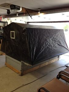 Ice fishing hut / shack - folds and fits in truck