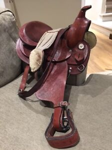 13 inch junior western saddle for sale