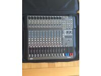 LANEY SPEAKERS AND PROEL MIXING CONSOLE WITH ALL CABLES, LEADS & POLES