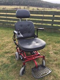 Powered wheelchair ultralight immaculate never used