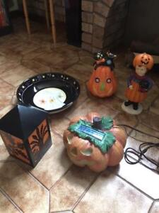 FIVE HALLOWEEN DECORATIONS, CAN SELL SEPARATELY