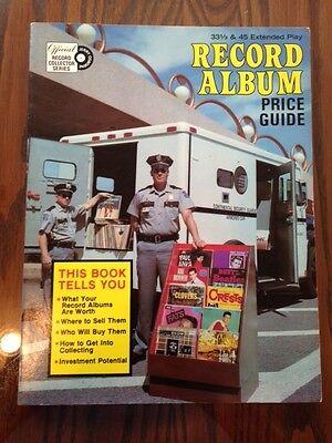 Record Album Price Guide by Jerry Osborne, 1977 FE PB