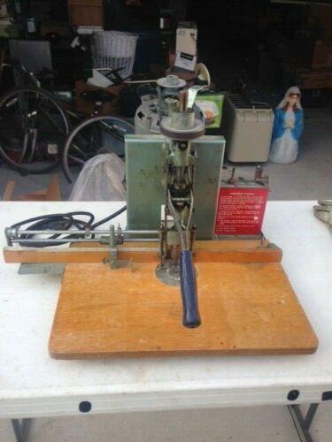 Paper Hole Drill Press Missing Belt Guard