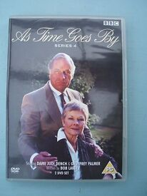 """DVD Boxset 2 Disc - """"As Time Goes By"""" Series 4 Comedy"""