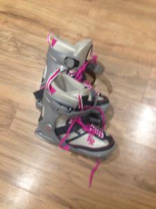 children's K2 ice skates adjustable size 11-2
