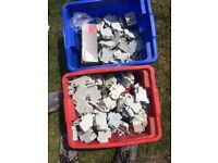Mixed selection of used circuit breakers . free to collect.