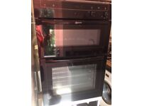 NEFF Electric Double Oven with Gas Hobb