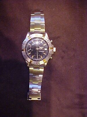 BUCHERER CHRONOGRAPH 200 METERS AUTOMATIC DATE VALJOUX 7750 STEEL Swiss
