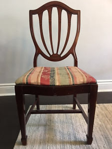 Duncan Phyfe Mahogany Antique Dining Chairs