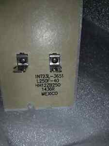 HH 12ZB250 Flame rollout switch Bryant Carrier Furnace HH12ZB250