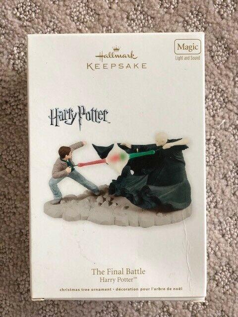 "2012 Harry Potter ""The Final Battle"" Hallmark Keepsake Ornament"