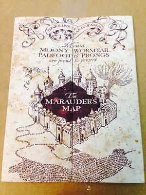 Marauders Map Hogwarts Wizarding World Harry Potter Warner Bros Limited   New