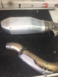 Full Exhaust 2010 CRF 450R - Stock - NEW