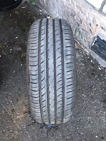 tyre 185 x 55 r15 very good tread and condition £50 ono