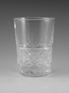 ROYAL-BRIERLEY-Crystal-BRUCE-Cut-Juice-TUMBLER-Glass-Glasses-3-1-2
