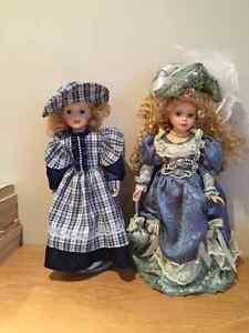 Belles poupées de collection