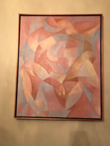Original John Rula Abstract Nude