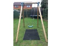 Plum Children's garden swing
