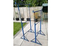 2 Extendable metal Scaffold Trestles