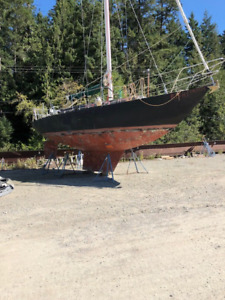 34 ft. Steel Sailboat, ready to sail, $5,000