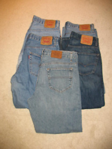 5 - Mens jeans 34x30, very good condition - Levis 550, Hilfiger