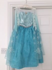 Official Disney Store Girls Elsa dress from Frozen