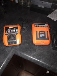 Ridgid chargers