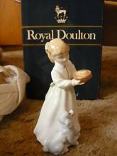 "royal doulton figurine ""Dinnertime"" Deloraine Meander Valley Preview"