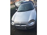 MGF 1.8 specials addition LOW MILES